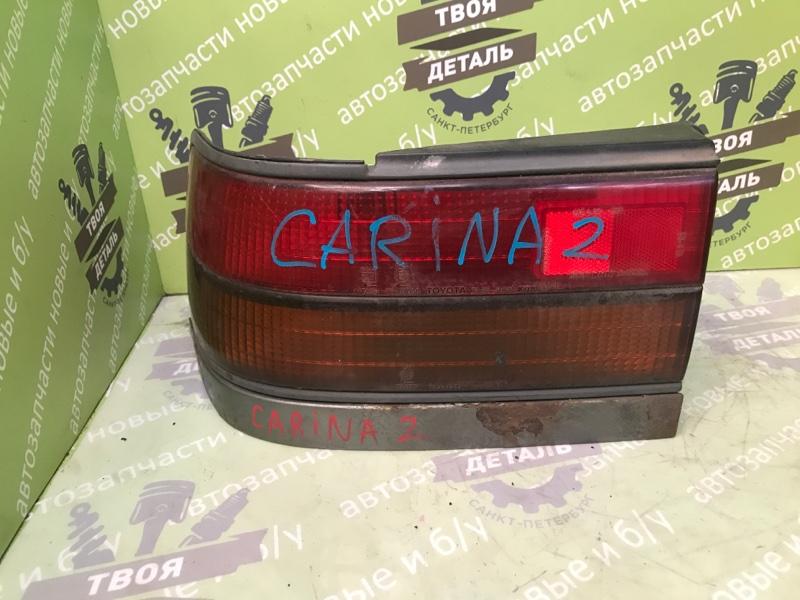 Фонарь задний Toyota Carina 2 1995 левый (б/у)