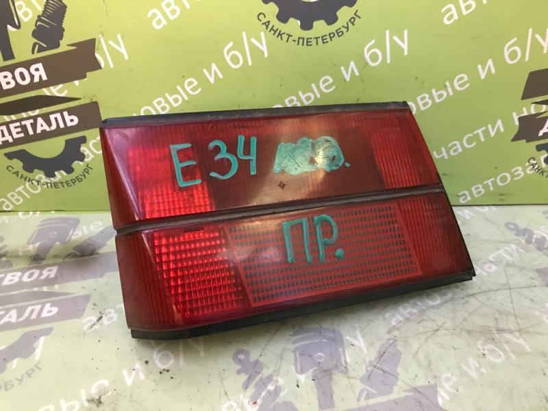 Фонарь внутренний Bmw 5 Series 520 E34 M20B20 1988 левый (б/у)