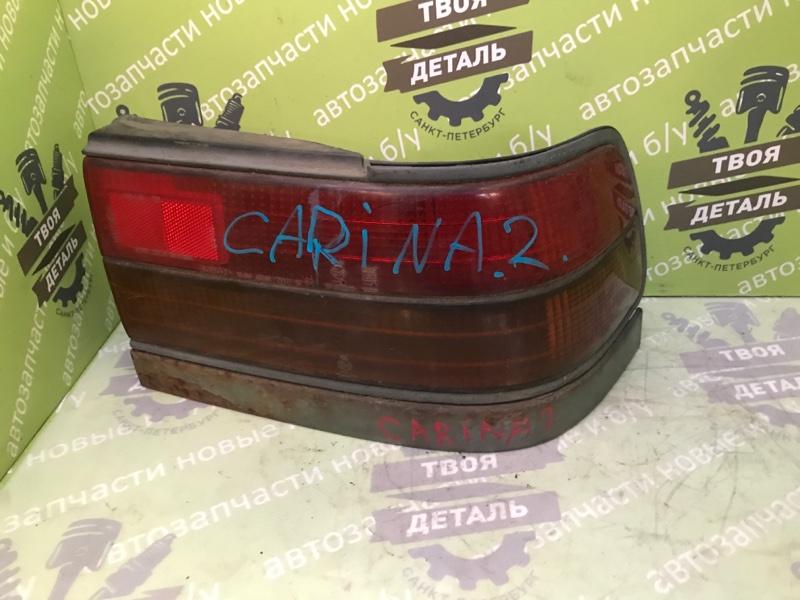 Фонарь задний Toyota Carina 2 1995 правый (б/у)