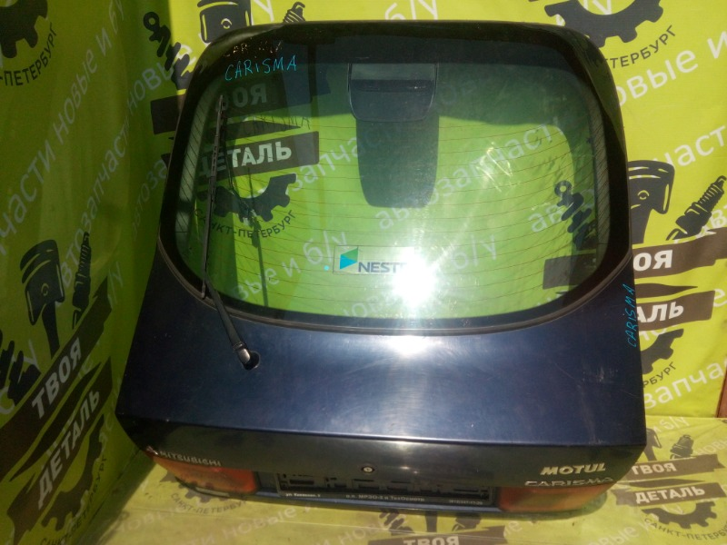 Дверь багажника со стеклом Mitsubishi Carisma Da ЛИФТБЭК (б/у)