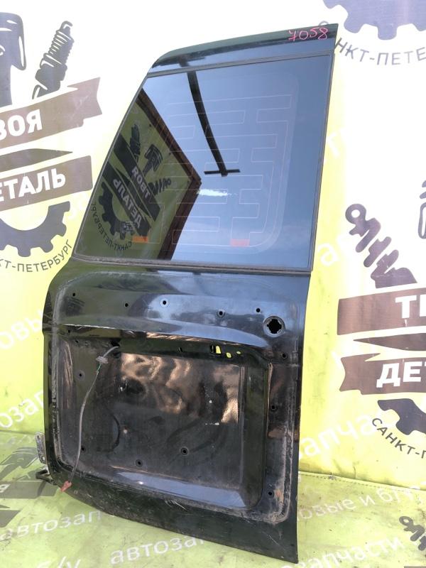 Дверь багажника со стеклом Nissan Patrol Y61 3.0 ZD30 2007 левая (б/у)