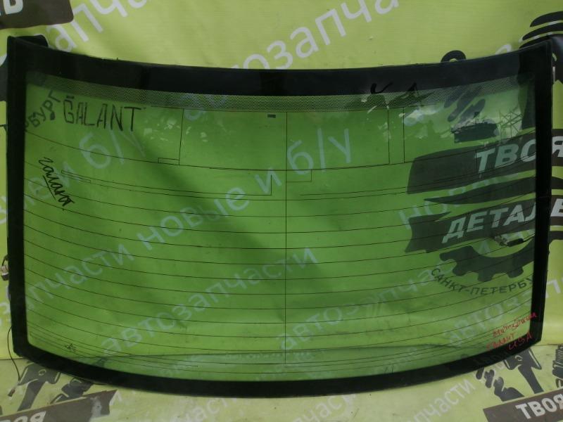 Заднее стекло Mitsubishi Galant 8 Usa СЕДАН 4G64 2.4 2000 заднее (б/у)