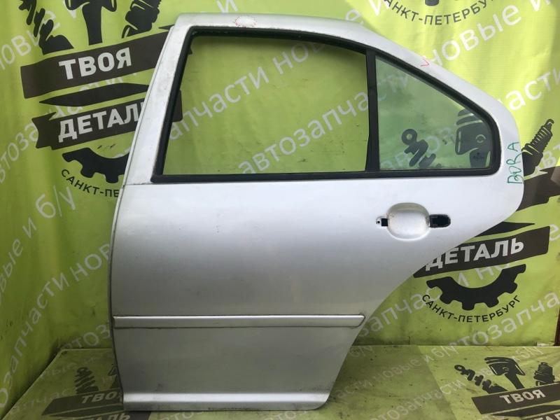 Дверь Volkswagen Bora СЕДАН 2000г.в. задняя левая (б/у)