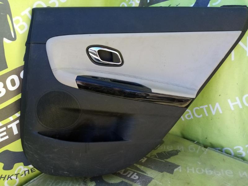 Обшивка двери Kia Ceed 2 Jd УНИВЕРСАЛ G4FG 2012 задняя правая (б/у)