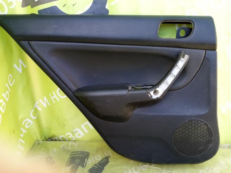 Обшивки дверей Honda Accord 7 K24A3 2007г.в. задние левые (б/у)