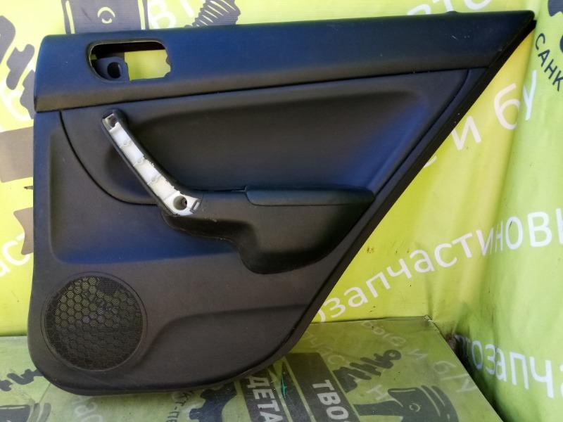 Обшивка двери Honda Accord 7 K24A3 2007г.в. задняя правая (б/у)
