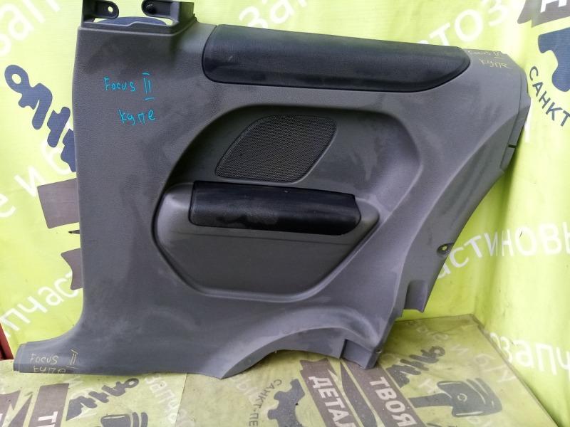 Обшивка двери Ford Focus 2 КУПЕ РЕСТАЙЛИНГ задняя правая (б/у)