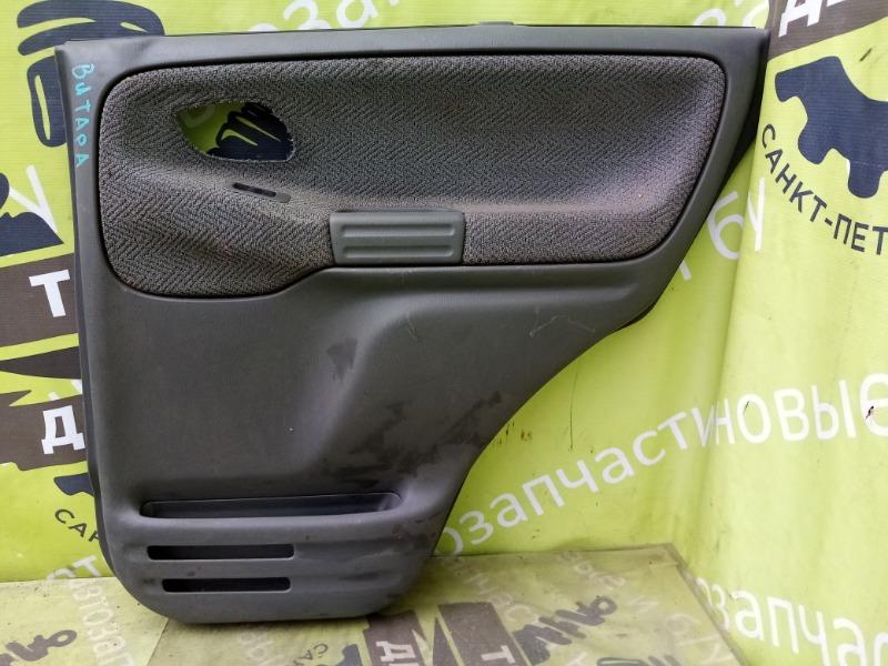 Обшивка двери Suzuki Grand Vitara 1 2.5 1999 задняя правая (б/у)