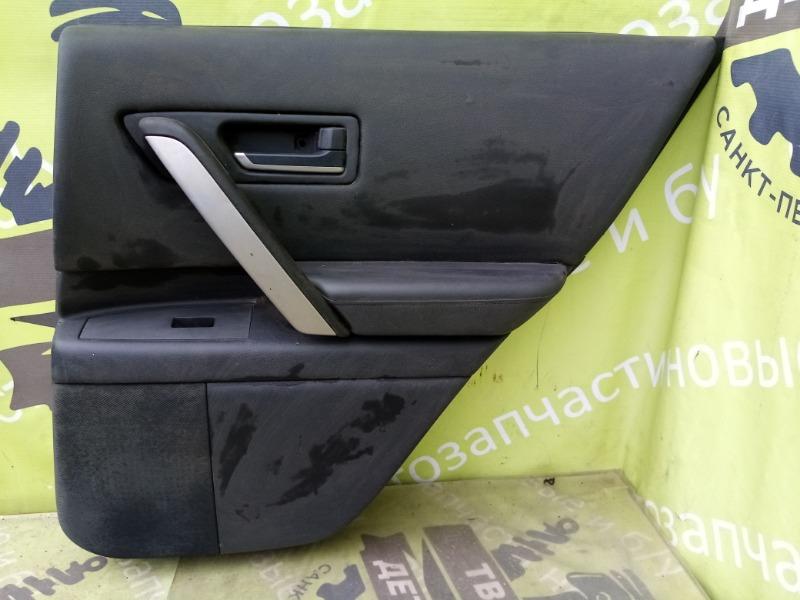 Обшивка двери Infiniti Fx35 S50 задняя правая (б/у)
