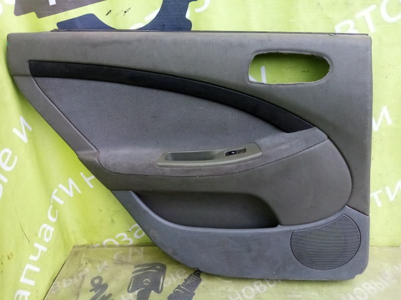 Обшивка двери Chevrolet Lacetti задняя левая (б/у)