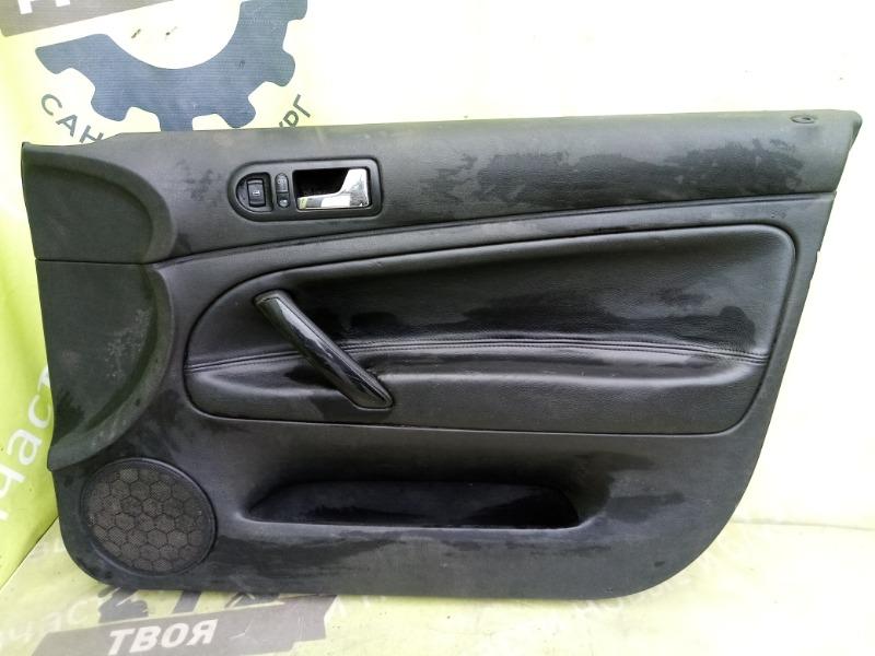 Обшивка двери Volkswagen Passat B5 передняя правая (б/у)