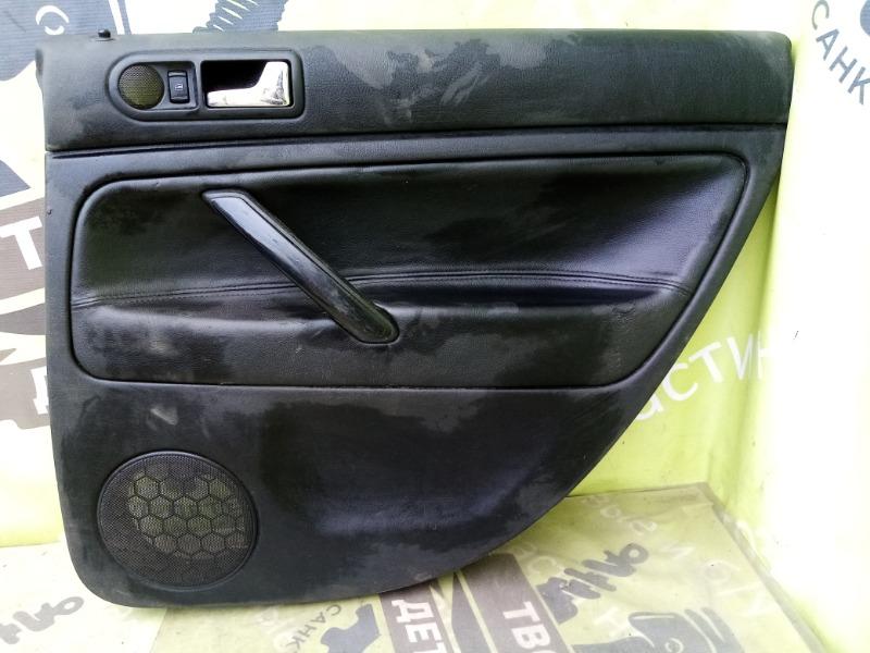 Обшивка двери Volkswagen Passat B5 задняя правая (б/у)