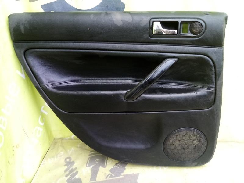 Обшивка двери Volkswagen Passat B5 СЕДАН 1998 задняя левая (б/у)