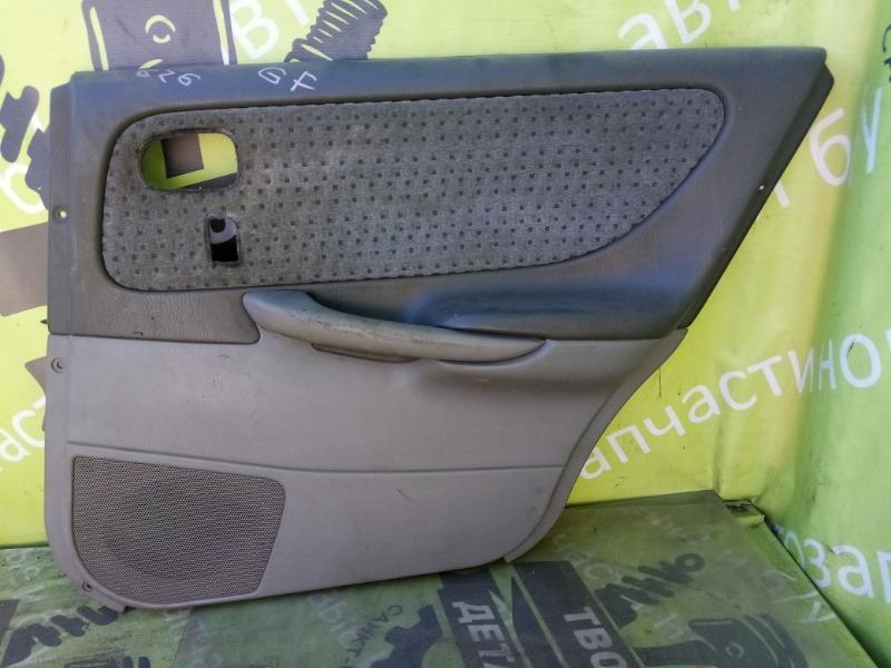 Обшивка двери Mazda 626 Gf задняя правая (б/у)