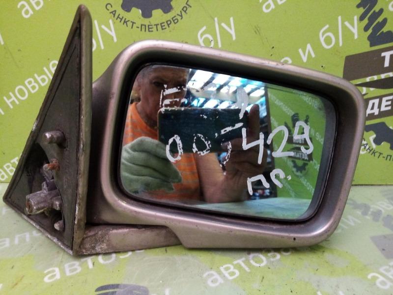 Зеркало Bmw 5 Series 520 E34 M20B20 1988 правое (б/у)