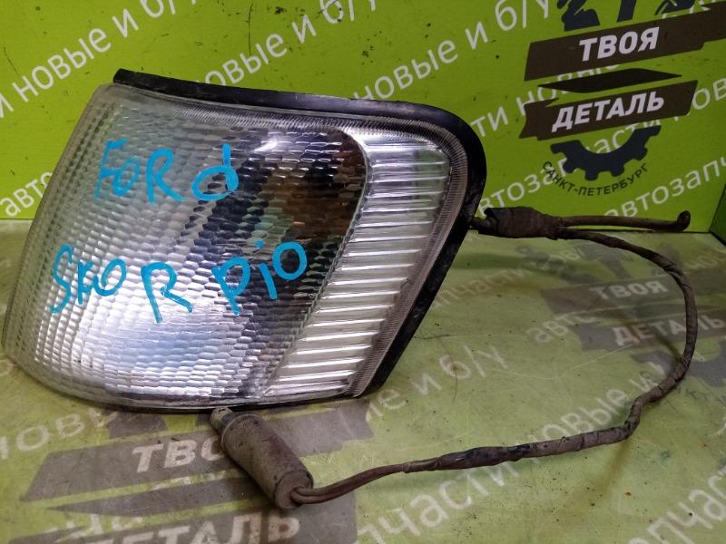 Поворотник Ford Scorpio 1 ДИЗЕЛЬ 2.5 1989 левый (б/у)