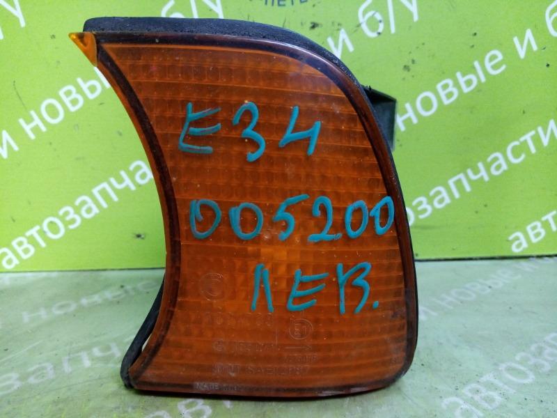 Поворотник Bmw 5 Series 520 E34 M20B20 1988 левый (б/у)