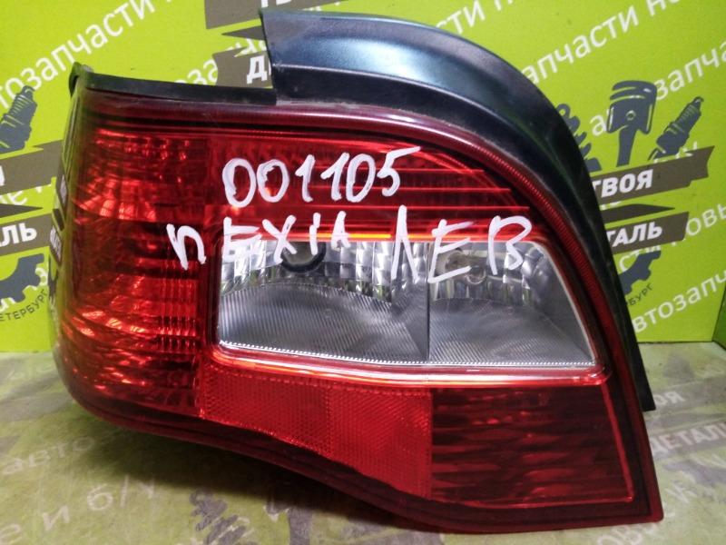 Фонарь Daewoo Nexia A15SMS 1.5 2008 левый (б/у)