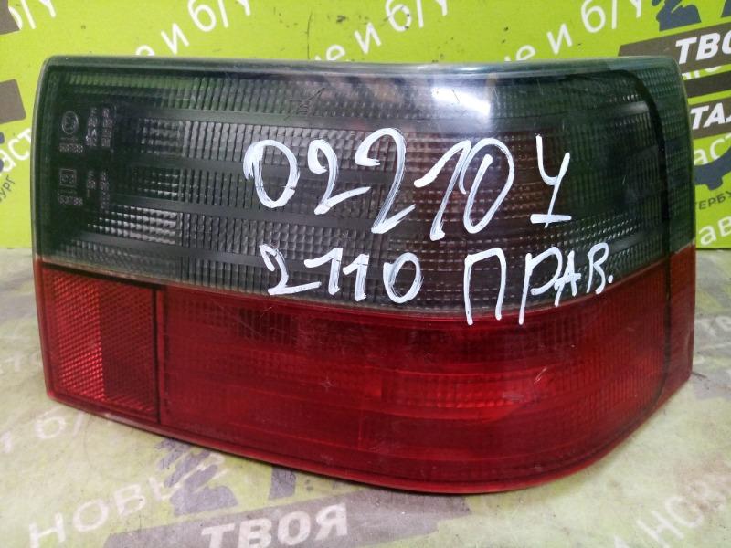Фонарь Ваз 2110 1.5 8V 2004 правый (б/у)