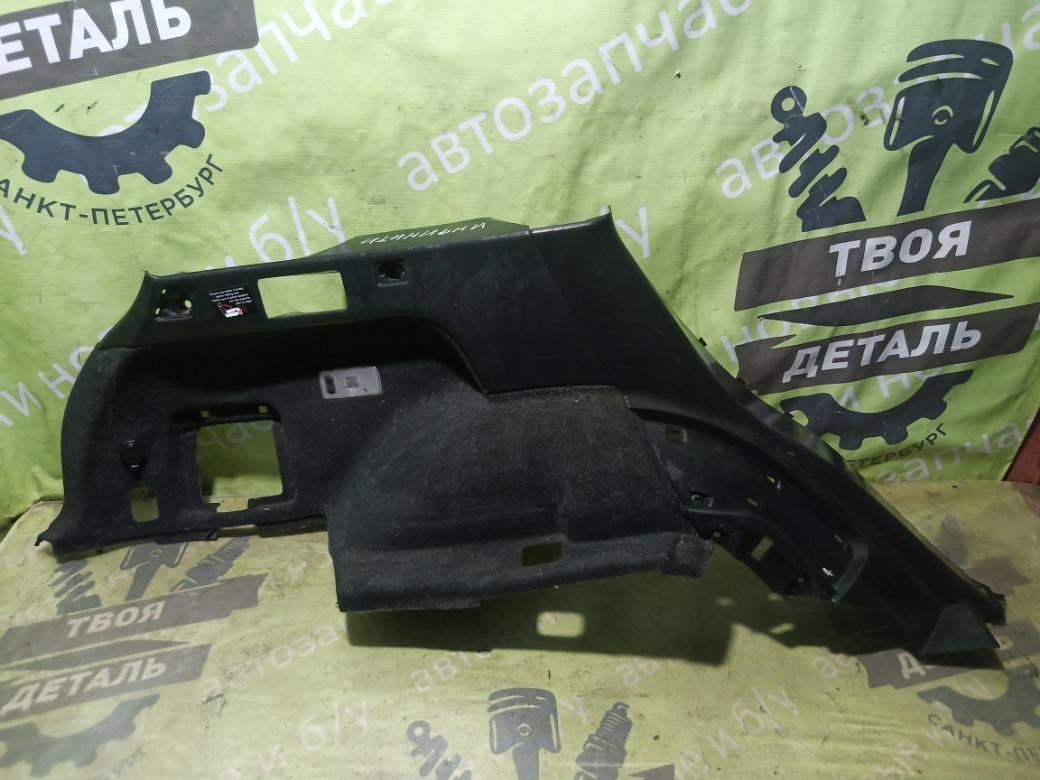 Обшивка багажника Infiniti Fx35 S50 3.5 VQ35DE 2004 левая (б/у)