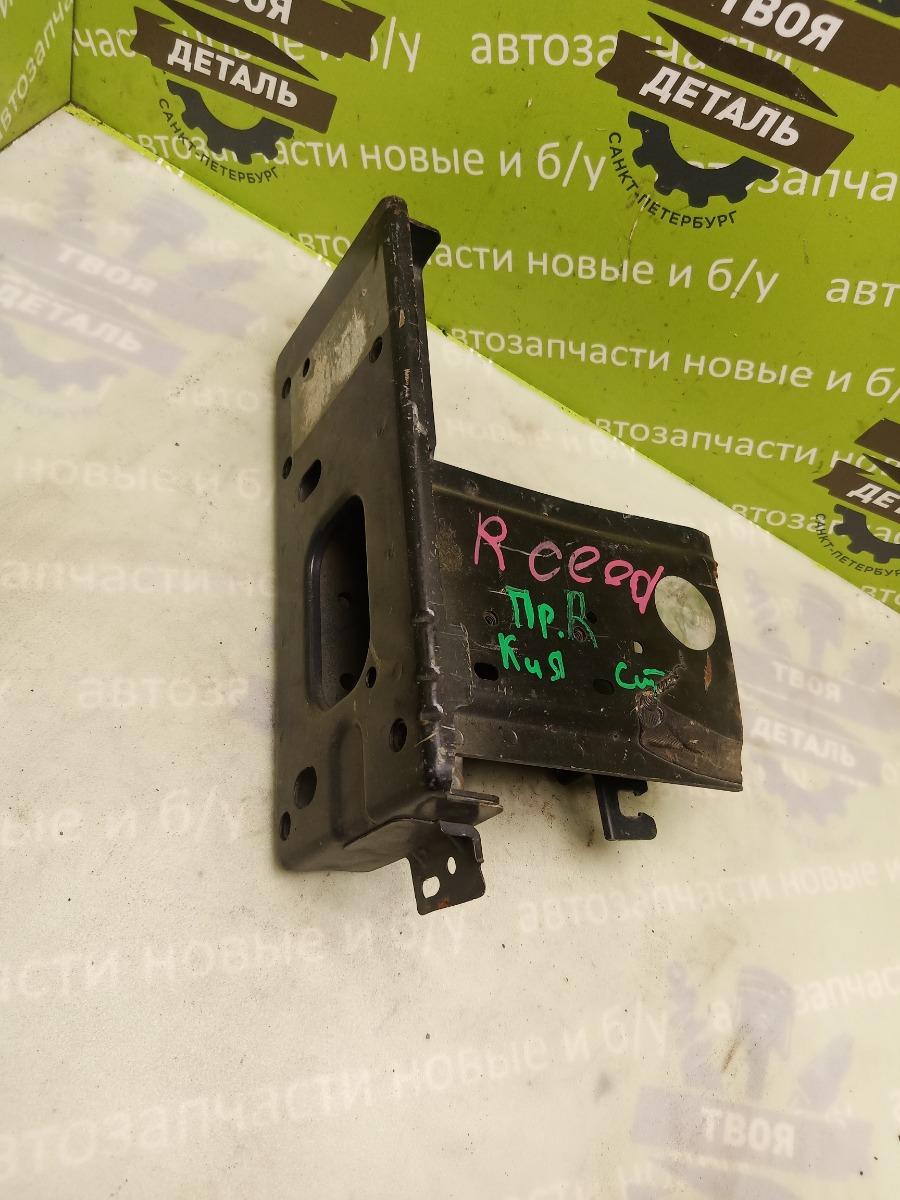 Лонжерон Kia Ceed 2 Hb ХЭТЧБЭК G4FA 2012 передний правый (б/у)