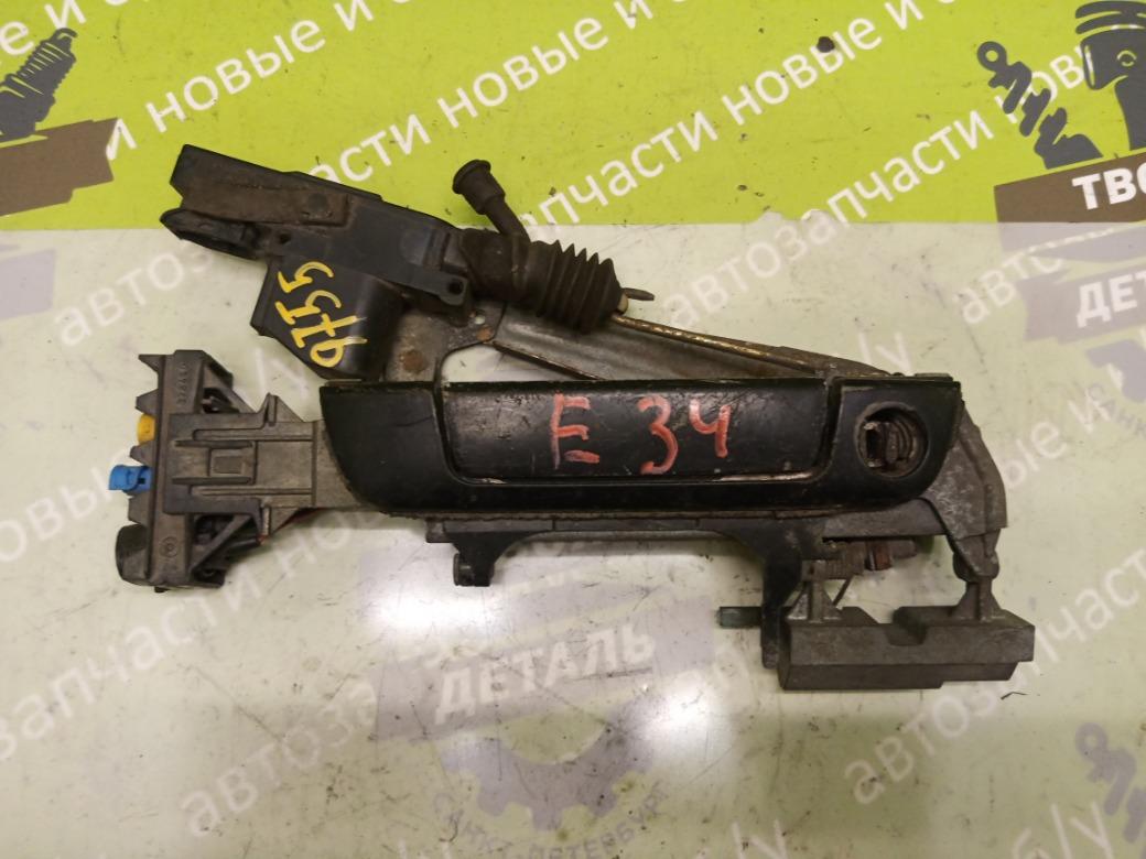 Ручка двери наружная Bmw 5 Series 520 E34 M20B20 1988 передняя правая (б/у)