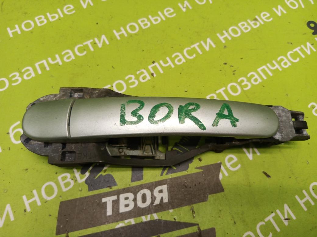 Ручка двери наружная Volkswagen Bora 1.6 AZD 2000 задняя правая (б/у)