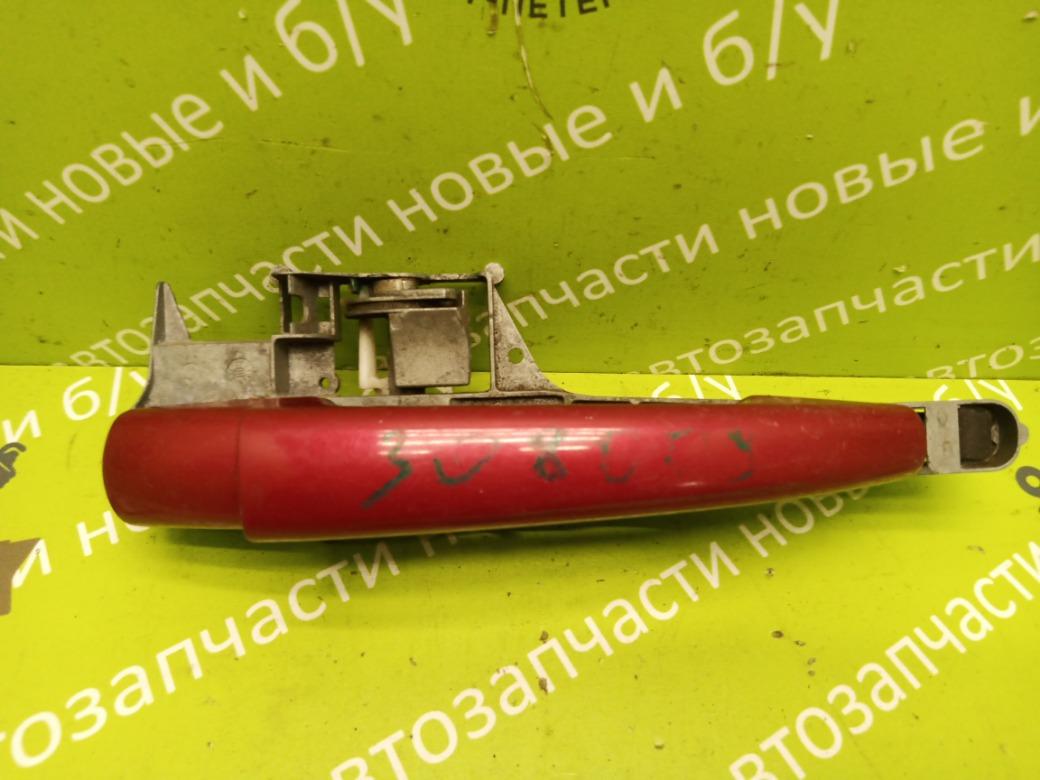 Ручка двери наружняя Peugeot 308 1.6 EP6 2008 задняя правая (б/у)