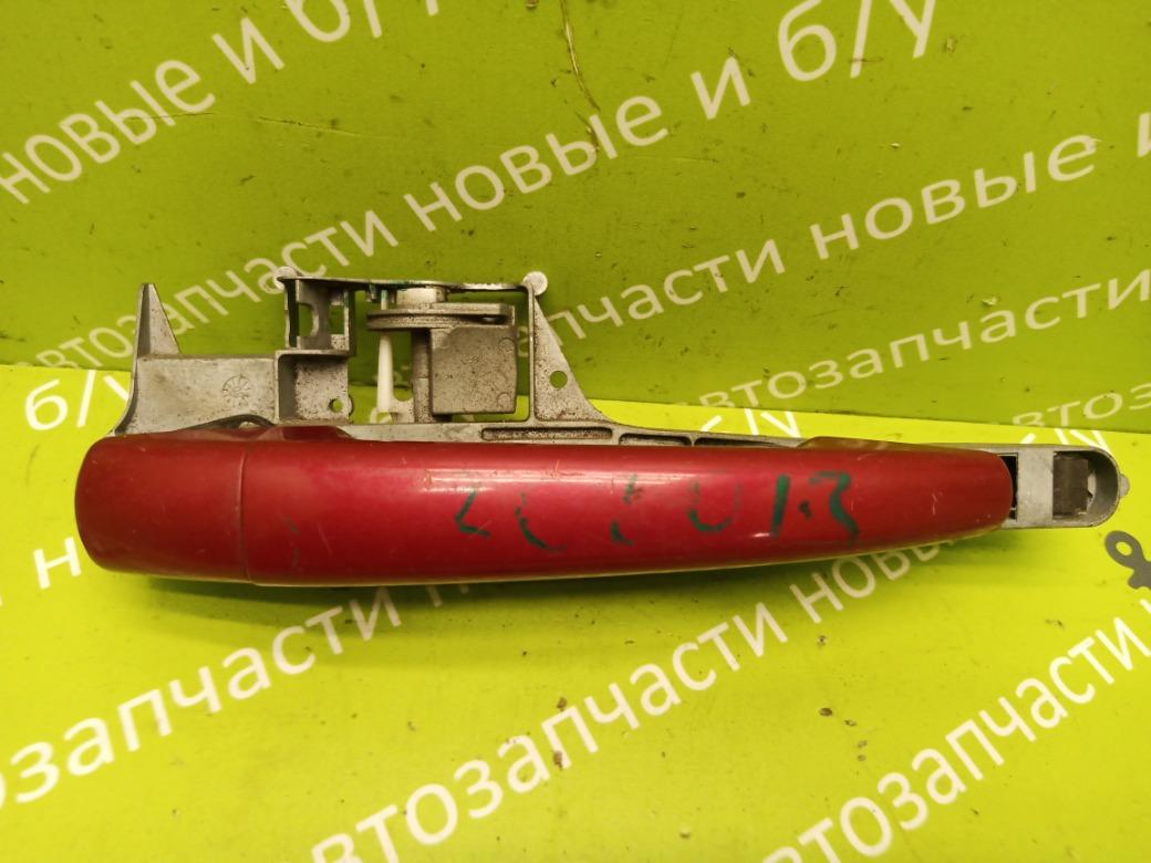 Ручка двери наружняя Peugeot 308 1.6 EP6 2008 передняя правая (б/у)