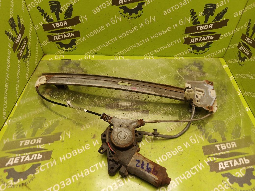 Стеклоподъемник электрический Mitsubishi Galant 8 Usa АМЕРИКА 4G64 2.4 2000 задний правый (б/у)