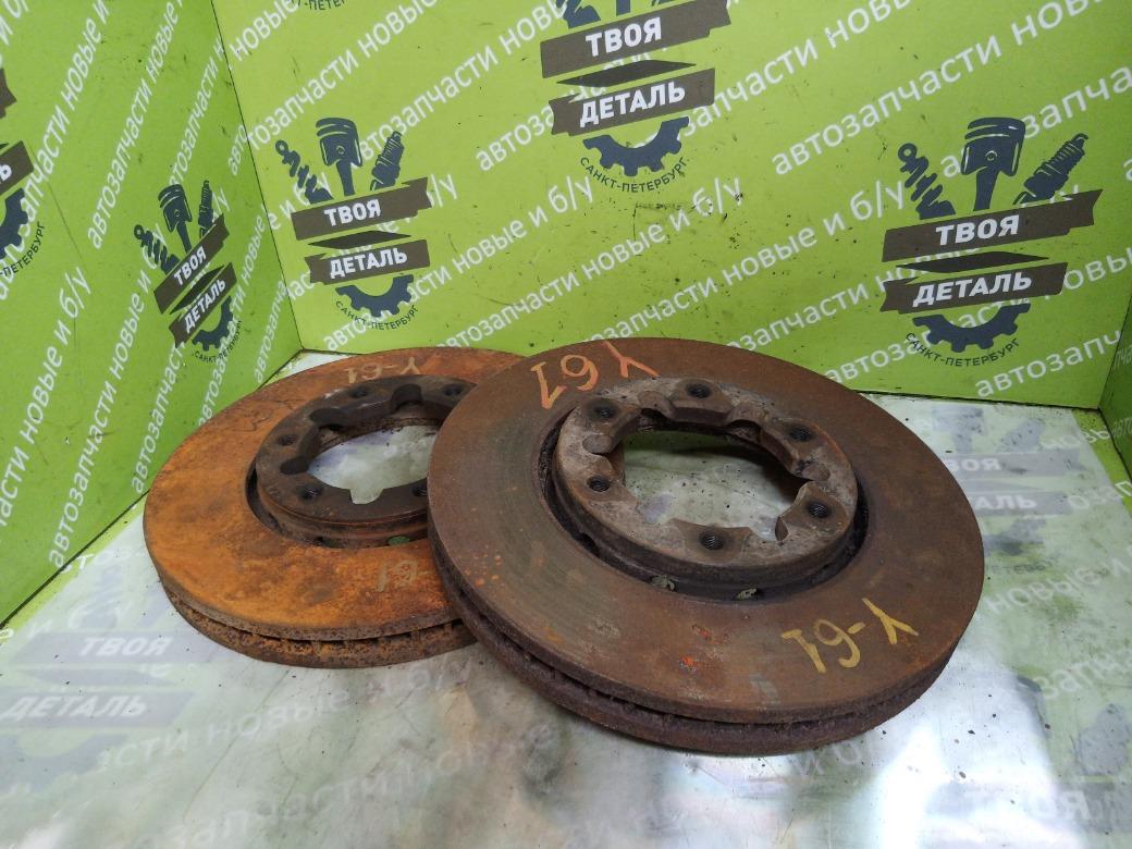 Тормозные диски Nissan Patrol Y61 3.0 ZD30 2007 (б/у)
