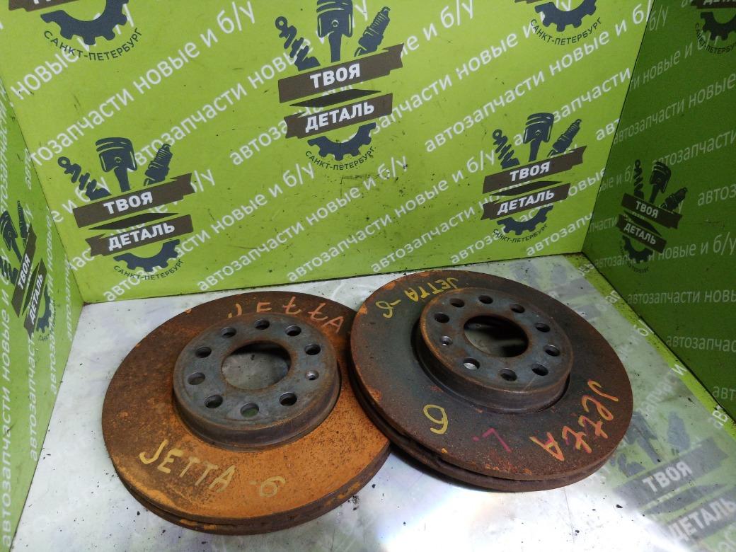 Тормозные диски Volkswagen Jetta 6 1.4 CAXA TSI 2011 (б/у)