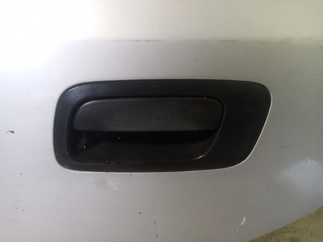 Ручка двери наружняя Opel Astra G УНИВЕРСАЛ 2.0 X20XEV 1999 задняя левая (б/у)