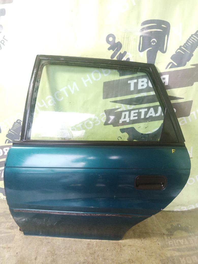 Дверь Opel Astra F 1.7 TD задняя левая (б/у)