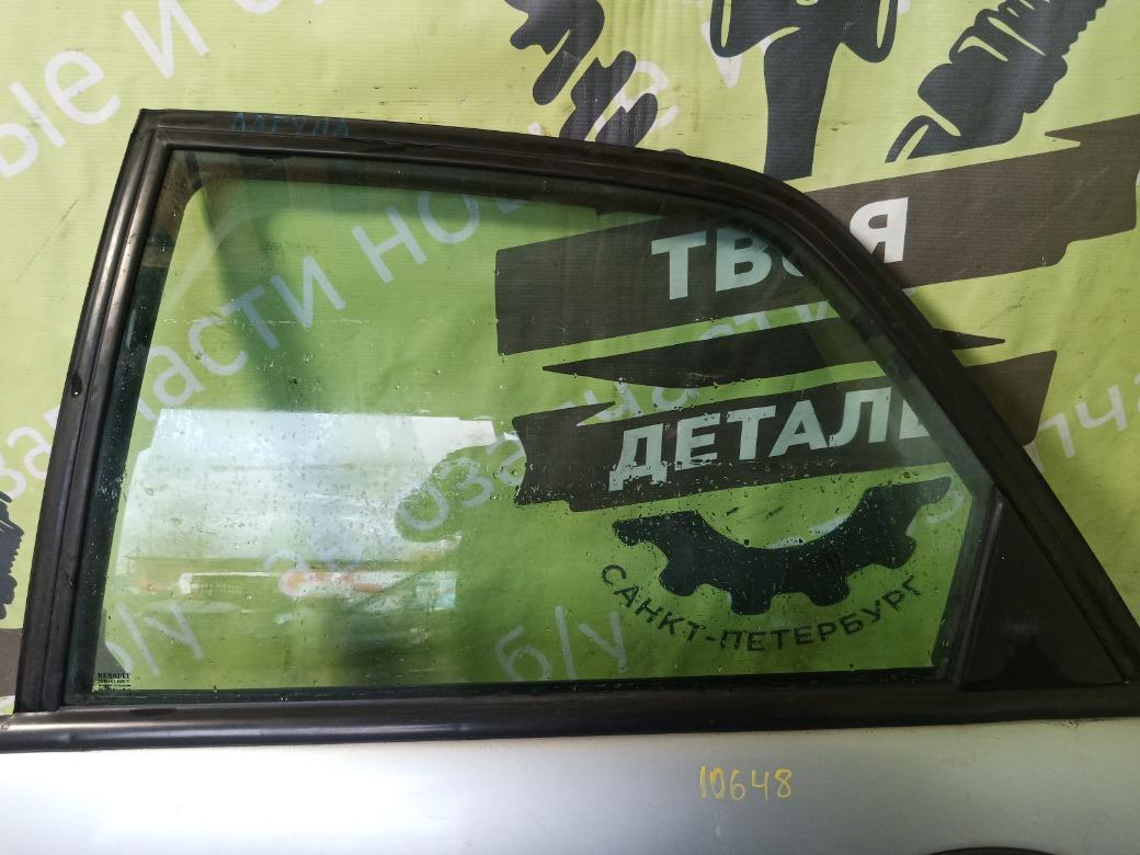 Стекло двери Renault Laguna K4M 1.6 1998 заднее левое (б/у)