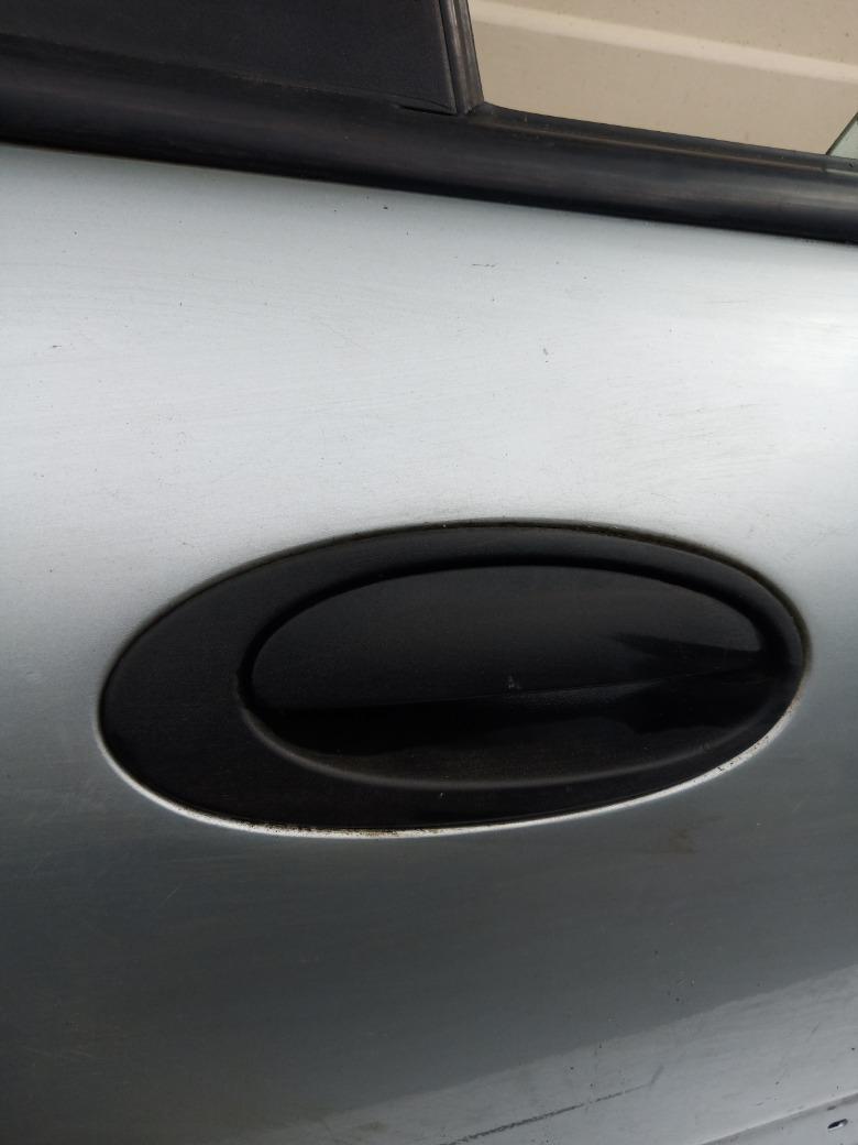 Ручка двери наружняя Renault Laguna K4M 1.6 1998 задняя правая (б/у)