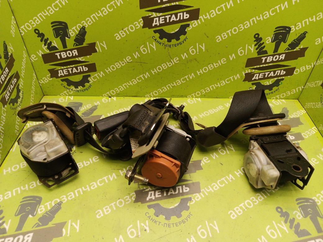 Ремень безопасности Nissan Patrol Y61 3.0 ZD30 2007 задний (б/у)