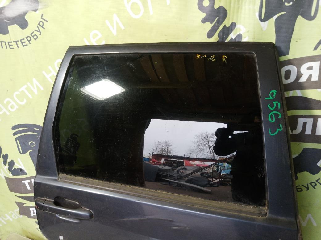 Стекло двери Volvo S70 B5234T3 1997г.в. заднее правое (б/у)