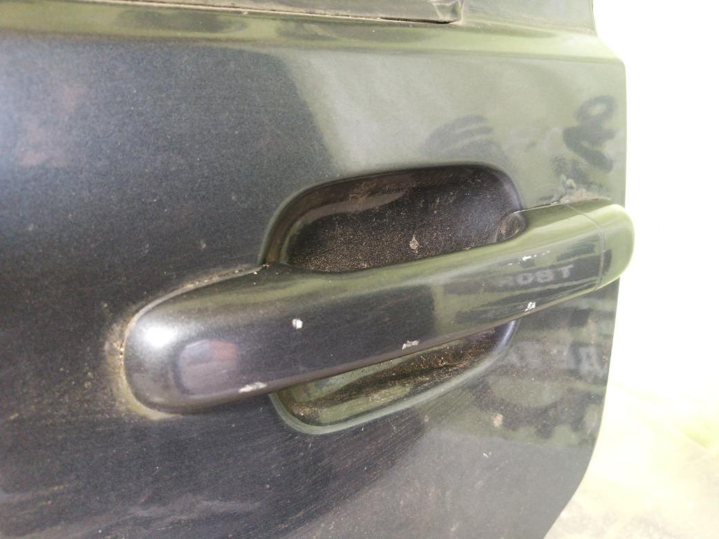 Ручка двери наружняя Volvo S70 B5234T3 1997г.в. задняя левая (б/у)