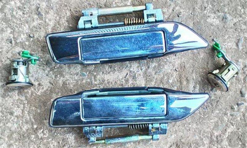 Ручка двери внешняя Nissan Rnessa N30 передняя левая (б/у)