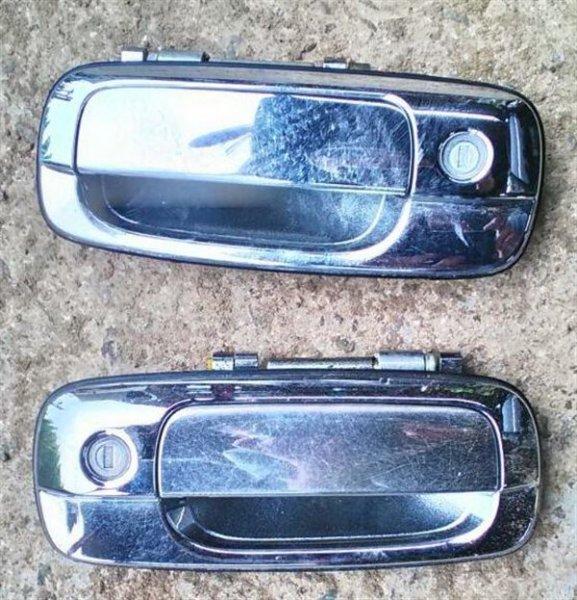Ручка двери внешняя Toyota Crown Majesta UZS171 1UZ-FE передняя левая (б/у)