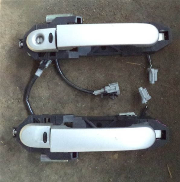 Ручка двери внешняя Nissan Note E11 HR15 передняя левая (б/у)