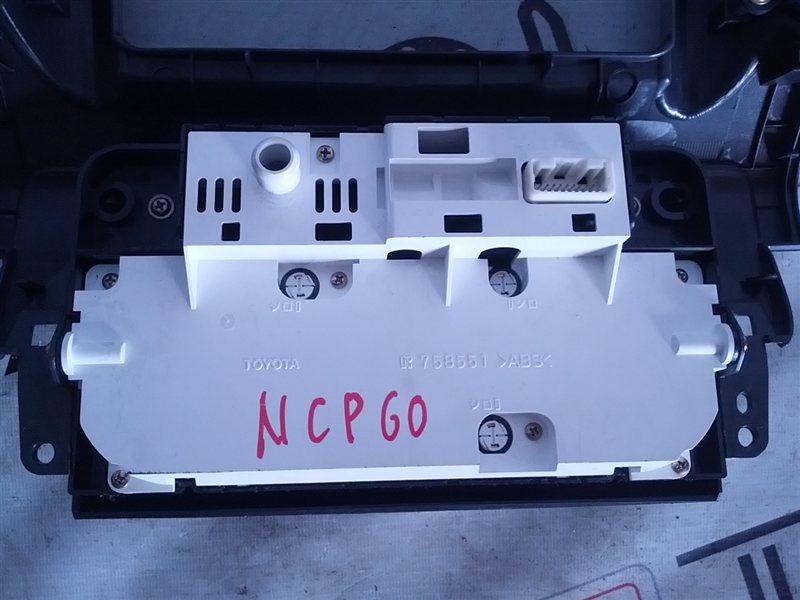 Блок управления климат-контролем Toyota Ist NCP60 (б/у)