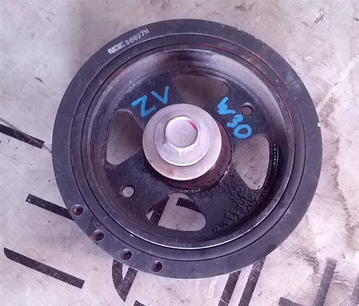 Шкив коленвала Toyota Prius ZVW30 2ZR-FXE (б/у)
