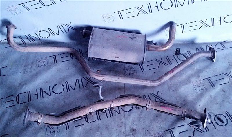 Глушитель Suzuki Jimny JB23W (б/у)