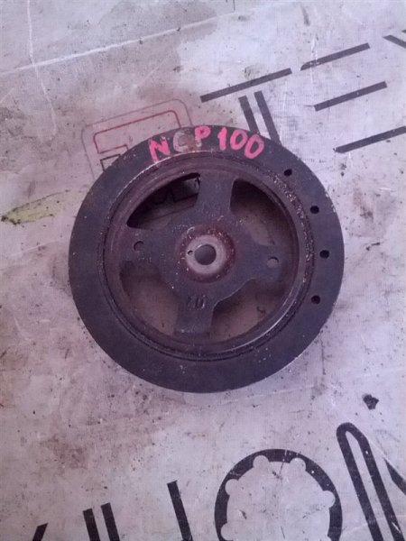 Шкив коленвала Toyota Ractis NCP100 (б/у)
