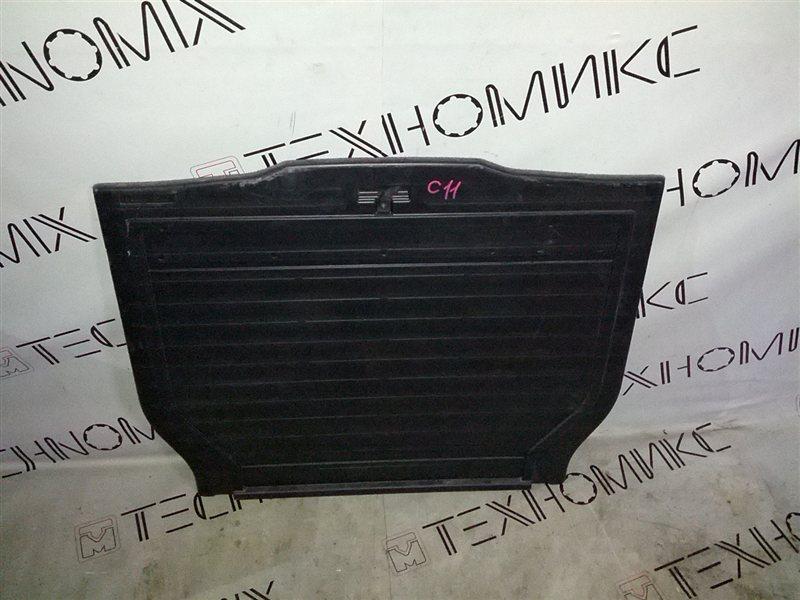 Пол багажника пластик Nissan Tiida C11 (б/у)