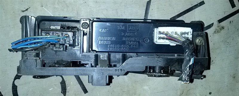 Блок управления климат-контролем Suzuki Jimny JB23W (б/у)