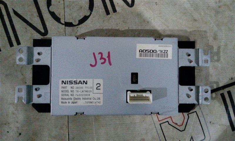 Монитор Nissan Teana J31 VQ23(DE) (б/у)