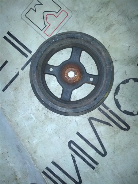 Шкив коленвала Toyota Probox NCP50 1NZ-FE (б/у)